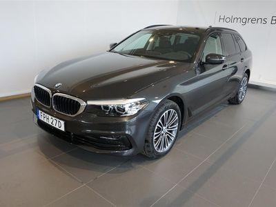 begagnad BMW 520 d xDrive Touring Sport Navi Värmare Drag HiFi