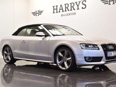 begagnad Audi A5 Cabriolet 3.0 TDI V6 Quattro Skinn GPS 2010, Sportkupé 236 000 kr