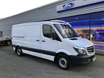 begagnad Mercedes Sprinter 316 BlueTEC Skåpbil (163hp)
