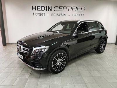 begagnad Mercedes GLC350 // Panorama // Designo interiör // Värmare // 1 Ägare