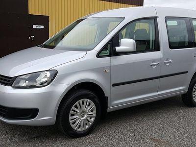 begagnad VW Caddy Maxi Life Caddy Life 2,0 TDI 4-Motion 5sits Trendline 2014, Personbil 159 000 kr