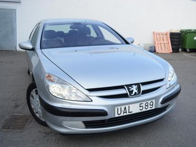 begagnad Peugeot 607 2,2 Skinn/Nybes/Nyservad -03
