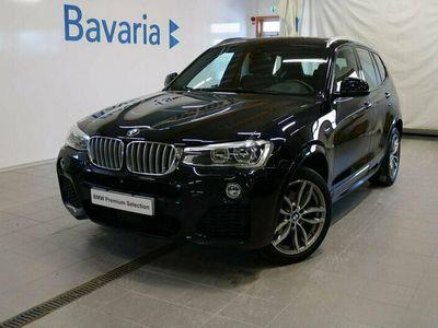 begagnad BMW X3 xDrive30d xDrive 30d M-Sport Panoramatak Dieselvärmare258hk