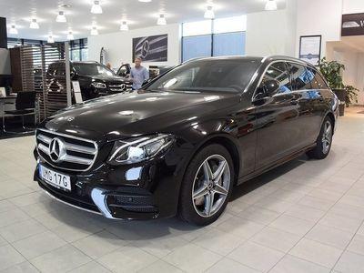 begagnad Mercedes E300 Hybrid Demo. AMG. Pluspaket. Widescreen