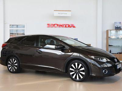 begagnad Honda Civic Tourer 1.6 i-DTEC 120hk Lifestyle
