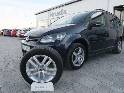 begagnad VW Touran 2,0 TDI Diesel 140HK Masters Drag 5-Sittplatser Vinterhju