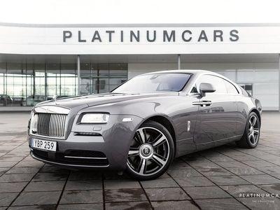 begagnad Rolls Royce Wraith Coupé 6.6 V12 632hk Sv.Sål