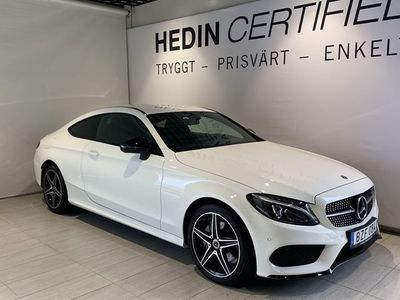 used Mercedes C180 COUPÉ //AMG-NIGHT//LED//AUTO//