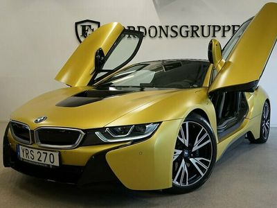 begagnad BMW i8 Protonic Edition, Frozen Yellow, Laserlight 362HK