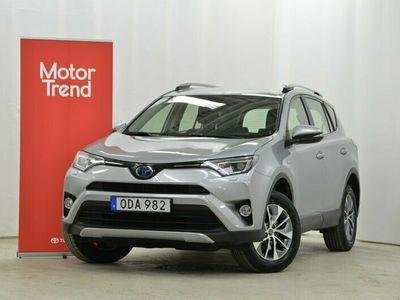 begagnad Toyota RAV4 Hybrid E-FOUR 2,5 AWD ACTIVE KVALITETSGARANTI