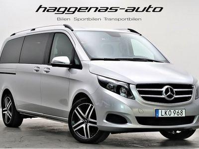 begagnad Mercedes V220 d 4MATIC / 7G-Tronic / MOMS