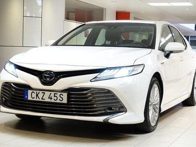 begagnad Toyota Camry 2,5 HYBRID EXECUTIVE NAV BACKKAMERA