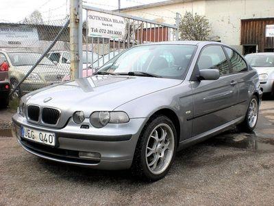 begagnad BMW 316 Compact i Nybes till 31 Juli 2021
