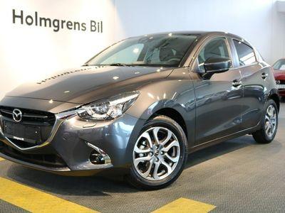 begagnad Mazda 2 1.5 90 hk 6 aut Optimum svart skinn 1,95% Ränta!!!