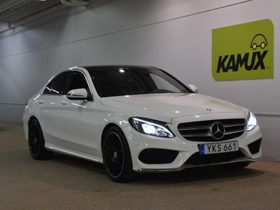 usata Mercedes C220 d 4matic AMG Panorama (170hk)