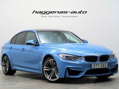 begagnad BMW M3 DCT M-Drive Harman Kardon 2015, Sedan 499 000 kr