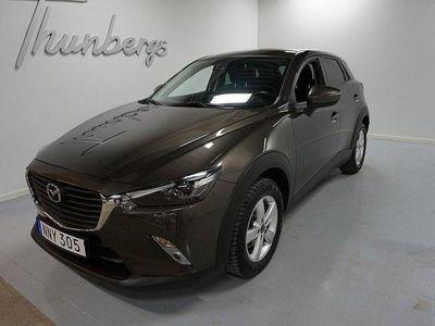 begagnad Mazda CX-3 2.0 120HK VISION NAV Drag MvG