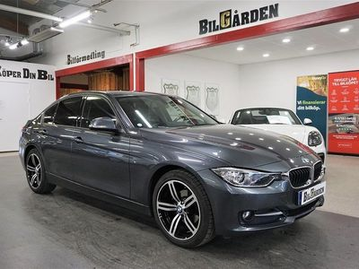 begagnad BMW 318 d Sedan Steptronic Sport line 143hk