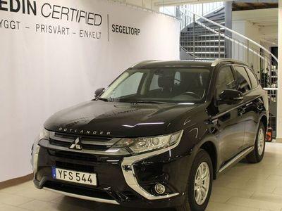 begagnad Mitsubishi Outlander PHEV 2,0 4WD Drag