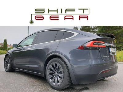 begagnad Tesla Model X 100D 6sits 1äg UTTAGEN APR 2019
