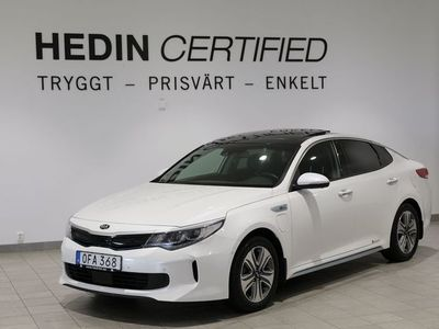 begagnad Kia Optima Hybrid P-HEV Pluspaket 2