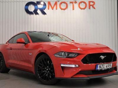 begagnad Ford Mustang GT 5.0 V8 Aut Lågskatt 450hk