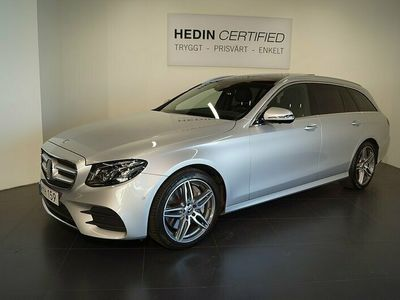 begagnad Mercedes E400 - Benz4MATIC Kombi 9G - Tronic Designo, Exclusive Leather / / AMG Paket / / Förare assistent paket - 333hk