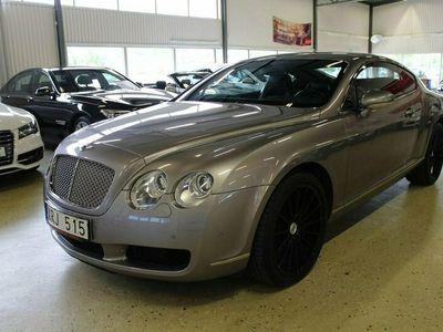 begagnad Bentley Continental GT 6.0 W12 SV-SÅLD 560hk