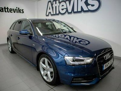 begagnad Audi A4 Avant TDI 150hk q S-line/Värmare/Drag