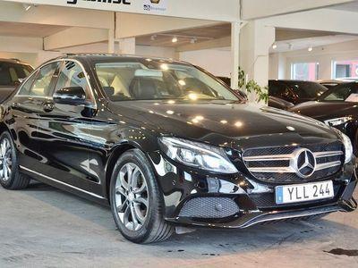 begagnad Mercedes C220 d 220d Panorama 170hk