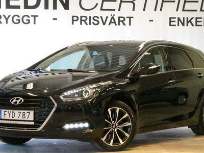 usado Hyundai i40 cw 1.7 CRDi M-värmare V-hjul Navi