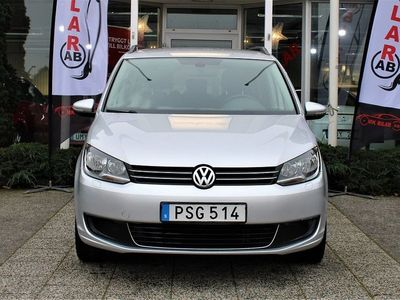begagnad VW Touran 1.4 TSI EcoFuel 7-sits ,En Brukare 2014, SUV 119 900 kr