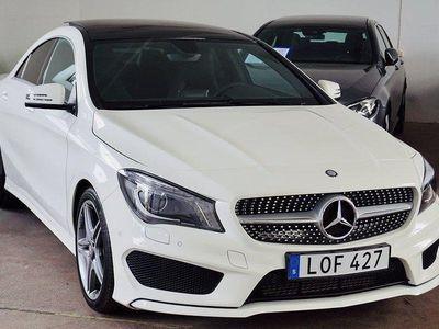 begagnad Mercedes CLA250 AMG Sport SKY Exclusive -15