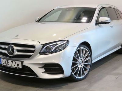 begagnad Mercedes E220 9G-Tronic 194hk 4WD Värm
