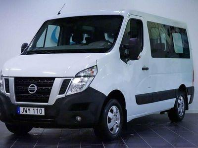 begagnad Nissan NV400 Minibuss 2.3 dCi 145hk 9-Sits MoK 1-Ägare EU6