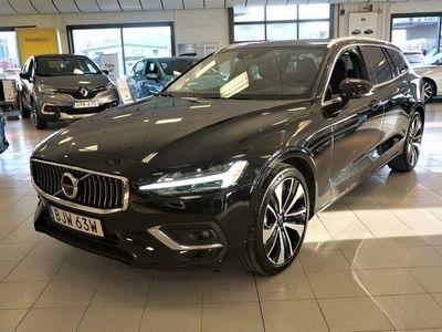 "begagnad Volvo V60 D4 AWD Inscription, Teknikpaket Pro, Klimatpaket, 19"", Panoramaglastak, Harman Kardon, 360° Kamera HUB"