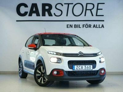 begagnad Citroën C3 Feel 82Hk Apple Carplay EURO 6
