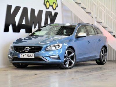 begagnad Volvo V60 D4 | R-Design | BE | VOC | Drag