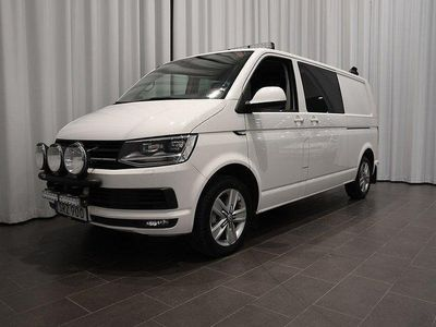 begagnad VW Transporter T6 Kombi TDI 4Mo 2017, Minibuss 379 500 kr