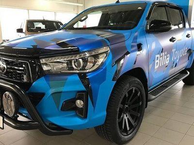 begagnad Toyota HiLux 2.4 Ultimate D-Cab Hundkåpa Automat 2019, Pickup 439 900 kr