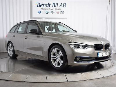 begagnad BMW 318 d Touring/ Model Sport/ Automat/ Fri -16