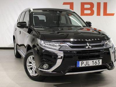 begagnad Mitsubishi Outlander P-HEV Fleet Edition 4WD 203hk - Dragkrok