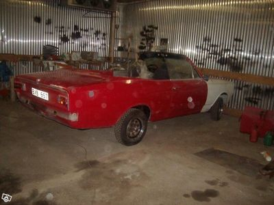 begagnad Opel Rekord 1900 Kiruna-cab 1968