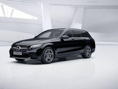 begagnad Mercedes C200 D KOMBI AMG DRAG SE-PAKET LAGERBIL