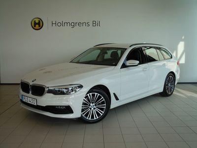 begagnad BMW 520 d Touring Sport Line Automat Navigation HiFi Drag