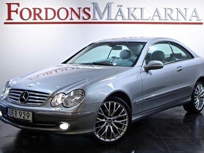 begagnad Mercedes CLK320 AUT 218HK SKINN BLACK WEEK