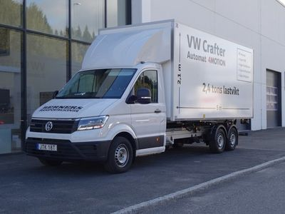 begagnad VW Crafter Chassi 35 EH 177HK AUT 4M 4