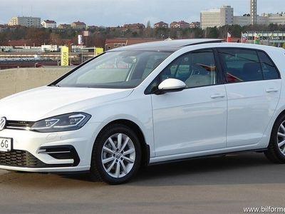 begagnad VW Golf VII 1.5 TSI 150 hk R-line Soltak Värmare V-däck
