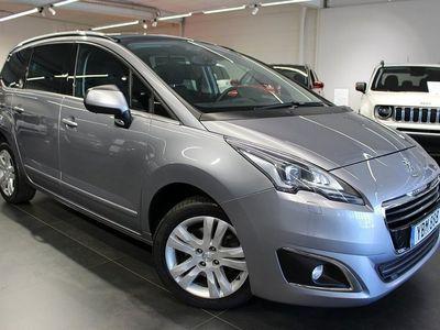 begagnad Peugeot 5008 Allure+ 1,6 BlueHDi 120hk Aut 7-