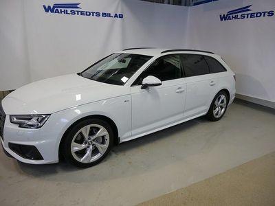 brugt Audi A4 AVANT 2.0 TDI 190HK Q S-Tr SPORT S-Line Värm/Drag